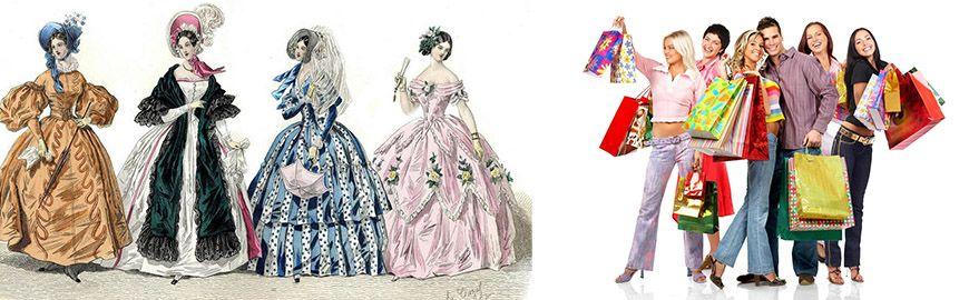Η ανάπτυξη της μόδας και των ρούχων στην αρχαιότητα